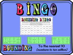 Rounding to the nearest 10 BINGO (numbers up to 10 million) Rounding Activities, Learning Activities, Teaching Resources, Tes Resources, Easter Jokes, Ordering Fractions, Math Bingo, Dice Template