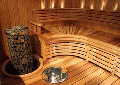 Sun Saunan messulaude vuodelta 2010 | Sun Sauna Kotikylpylä Natural Swimming Pools, Natural Pools, Pool Landscaping, Backyard Pools, Small Pools, Dream Pools, Pool Decks, Pool Houses, Pool Designs