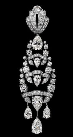"""Cartier """"L'Odyssée de Cartier Parcours d'un Style"""" Collection - Indian Influences Earring"""