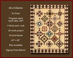 2017 BOW Program - Piecing the Past Quilts