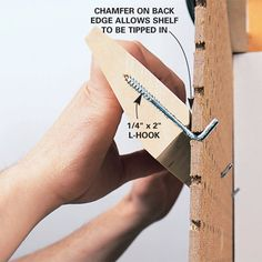 Make a couple of shelves for your peg board using L-hooks and some 2 x 4's. Great way to get some of those bulkier items off your work space and into plain view.......D.
