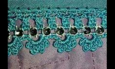Diy And Crafts, Lace, Beautiful, Crochet Stitches, Pearls, Racing