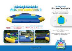 Inflable Acuático Piscina Cuadrada Niños y Adultos Costa Rica  http://www.juegosypiruetas.com/#!inflables-acuticos/cahp
