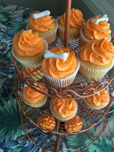 Cupcakes for Flintstone party
