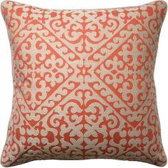 Meurice Persimmon Pillow - Ryan Studio