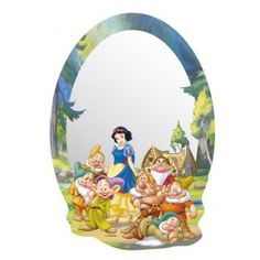 Snow White Art, Decoration, Walt Disney, Snow Globes, Princess Zelda, Mirror, Kids, Fictional Characters, Parfait