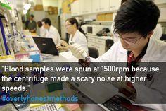 """This is what happens when scientists get honest"" #overlyhonestmethods"