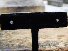 0.12 ct Diamond Stud Earrings