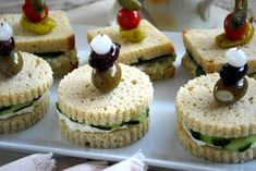 Tea Sandwiches are not just for tea anymore! These always make a beautiful presentation and prove popular with any crowd. You can try our gluten-free egg-salad sandwich recipe or get creative with the endless filling options.