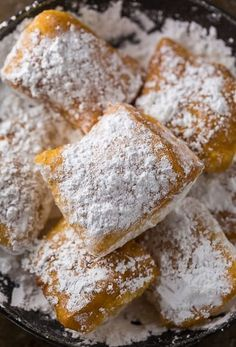 New Orleans-Style Beignets Recipe - The Best Beignet Recipe New Orleans-Style Beignets Recipe - The Best Beignet Recipe Now you can have New Orleans-Style Beignets without leaving home!<br> Now you can have New Orleans-Style Beignets without leaving home! Just Desserts, Delicious Desserts, Dessert Recipes, Yummy Food, Deep Fried Desserts, Tasty, Recipes Dinner, Pasta Recipes, Dinner Ideas