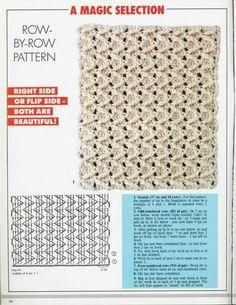 "Photo from album ""Рукоделие журналы"" on Yandex. Crochet Cable, Crochet Chart, Crochet Diagram, Tunisian Crochet, Knit Or Crochet, Crochet Mandala, Crochet Motif, Crochet Stitches, Crochet Patterns"