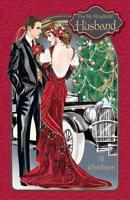 Art Deco ~ For My Wonderful Husband At Christmas ~ Large Boxed Luxury Card