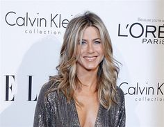 Jennifer Aniston's perfect ash blonde hair