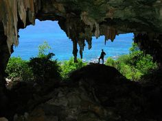Cueva Esqueleto, (Skeleton Cave) main entrance, Mona Island, Puerto Rico, brian killingbeck 2 | Flickr - Photo Sharing!