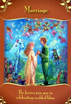 Marriage - Magical Messages From the Fairies Doreen Virtue, You Are My Moon, Angel Guidance, Spiritual Guidance, Oracle Tarot, Oracle Deck, Angels Among Us, Angel Cards, Card Reading