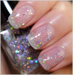 glitter nai polish by Ilse