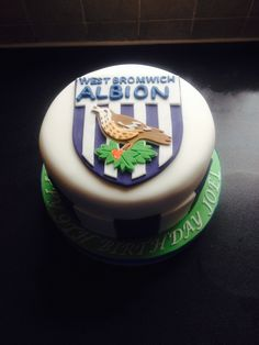 West Bromwich Albion football cake