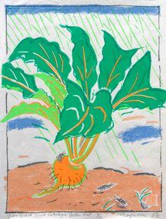 Green Gulch Seed Catalog- Golden Beet by Mayumi Oda
