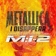 RECENSIONE: Metallica singolo ((I Disappear)) Facente parte della colonna sonora di Mission Impossible 2, storico film con Tom Cruise, I Disappear venne anche commercializzata dai Metallica come singolo nel 2000. Una canzone che certo non è esente da difetti, ma che ancora riesce bene a tenere banco in quelle che sono le radici d'acciaio del gruppo. Cliccando sulla foto o sul titolo si aprirà la recensione...Buona Lettura! (Michele Alluigi)