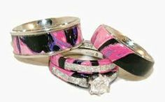 Camo Ring sets...pink