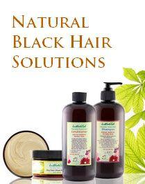 African American Black Hair Skin Care