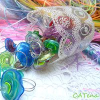 plastic bottles jewelry - rings