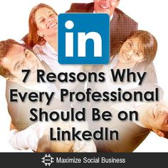 7 Reasons Why Every Professional Should Be on LinkedIn? I think it can't be said often enough - #LinkedIn is a must have for entrepreneurs