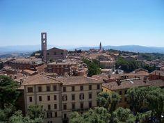 Photo: San Domenico in the Borgo Bello neighborhood of Perugia, Italy (via juliabourque.blogspot.com) Perugia Italy, The Neighbourhood, Louvre, San, Mansions, House Styles, City, Building, Travel