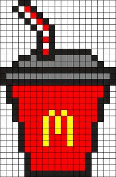 13 Meilleures Images Du Tableau Pixel Art Food Dessin