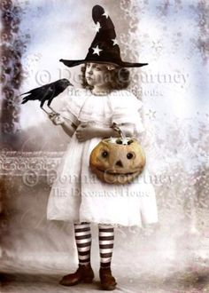 I love the stockings! Halloween Art Card
