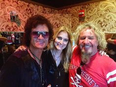 Gab and I with brother Sammy Hagar in San Francisco backstage @ The Fillmore