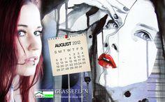 Wallpaper für den Monat August  Glasseelen - Schattengrenzen  Tanja Meurer http://www.bookshouse.de/wallpapers/