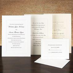 Canvas Bright White - Wedding Invitation