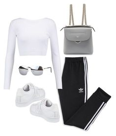 """Untitled #5885"" by lilaclynn ❤ liked on Polyvore featuring adidas, Cushnie Et Ochs, Fendi, fendi and gamiss"