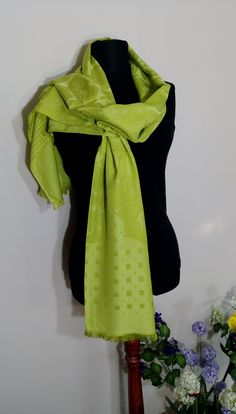 lenght: 180 cm ( width: 65 cm ( This is very special looking pistachio green oversize shawl/scarf which you can use it in different types on your body. Purple Scarves, Pistachio Green, Neckerchiefs, Winter Accessories, Elegant Outfit, Neck Warmer, Hand Knitting, Shawl, Gifts For Her