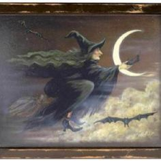 Halloween Witch Broom Vintage image by - Photobucket Retro Halloween, Halloween Prints, Halloween Pictures, Holidays Halloween, Happy Halloween, Halloween Decorations, Halloween Witches, Halloween Table, Halloween Signs