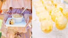 Baked Mini Macaroni with Gruyere and White Cheddar Cheese, Cocktail Burger and Sangria, Willa Kveta photos featured on PureJoyCatering.com
