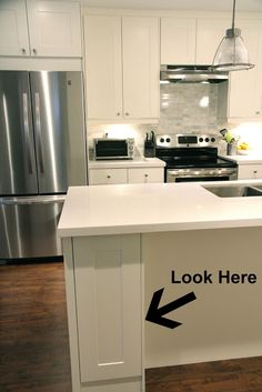 IKEA Adel Kitchen: Before And After Sneak Peek! | The L.A. Lady Blog |  Kitchen | Pinterest | Ikea Adel Kitchen, Blog And The Lady