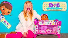 DOC MCSTUFFINS Disney Baby Cece Assistant Unboxes New Doc  McStuffins Toy - YouTube
