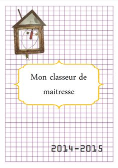 Classeur de maitresse 2014-2015