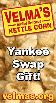 http://velmas.org - Yankee swap gift ideas. Kettle corn makes a great white elephant or yankee swap gift idea. $20 #yankee #swap #white #elephant #gift #ideas