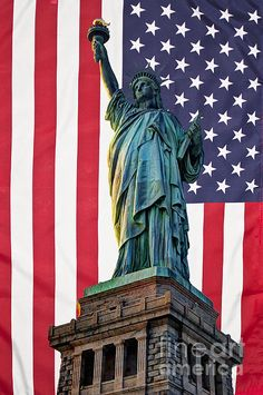 Liberty Patriot by Steve Purnell American Flag Pictures, Patriotic Pictures, Eagle Pictures, I Love America, God Bless America, Statue Of Libery, American Flag Wallpaper, Cute Christmas Wallpaper, Planets Wallpaper