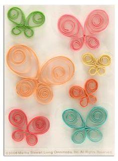 Martha Stewart Crafts Quilled Butterfly Stickers