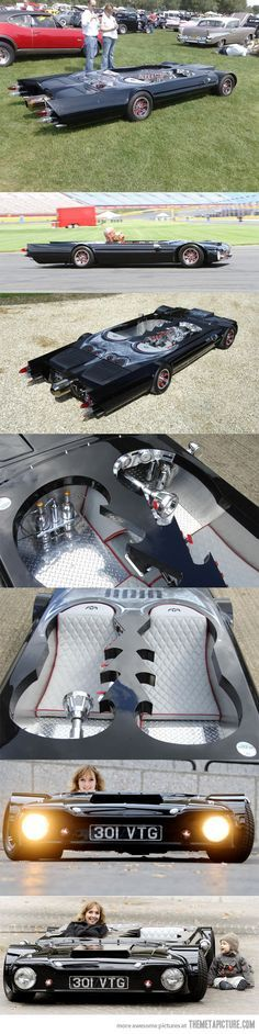 Flatmobile… #cars #customcars #batman #batmobile