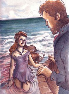 the little mermaid -illustrazione