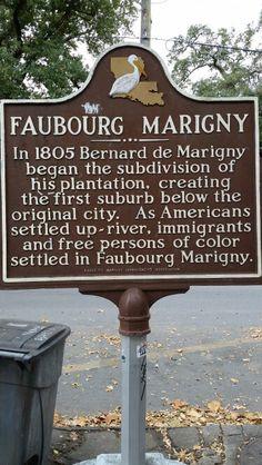 Faubiurg Marigny.