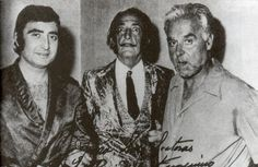 Peret, Dalí y Capri