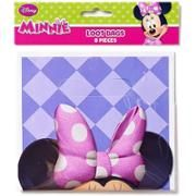 Gift Bags 65 X 925 8pk Minnie Mouse Birthday Supplies