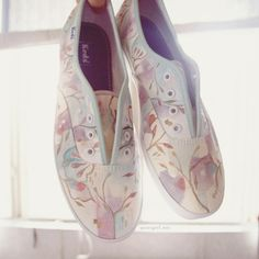 Hand-painted Keds