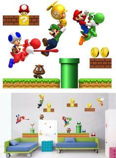 Die 143 besten Bilder von Kinderzimmer ▷ Super Mario in 2019 ...
